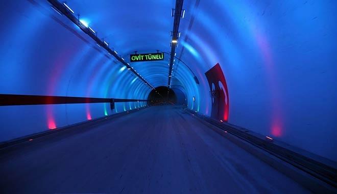 138 yıllık hayal gerçekleşti! Ovit Tüneli açıldı