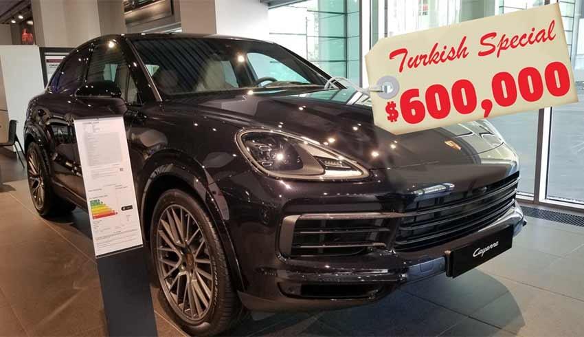 150 Bin Dolarlık Porsche, neden Türkiye'de 600 Bin Dolar?