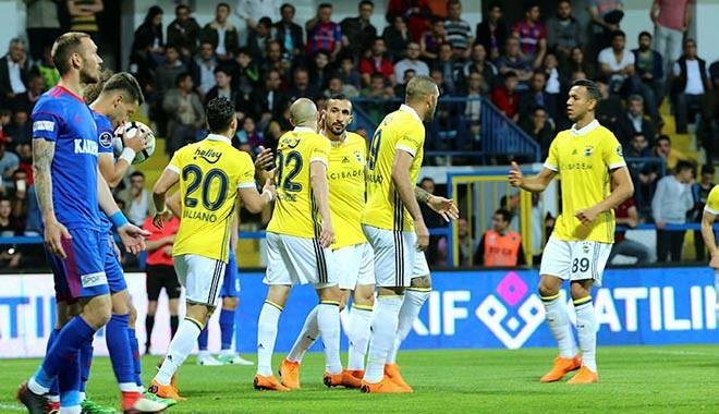 Fenerbahçe, Karabükspor'a 7 gol attı! Yarış son haftaya kaldı