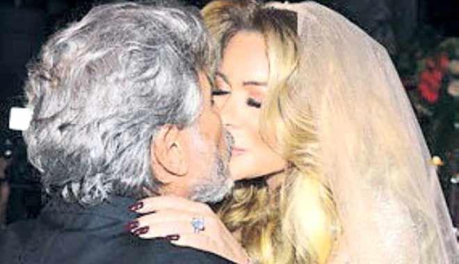 66 yaşındaki işadamı 44 yaşındaki sevgilisiyle evlendi