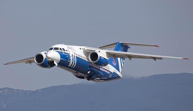 71 kişiyi taşıyan Rus Antonov yolcu uçağı düştü