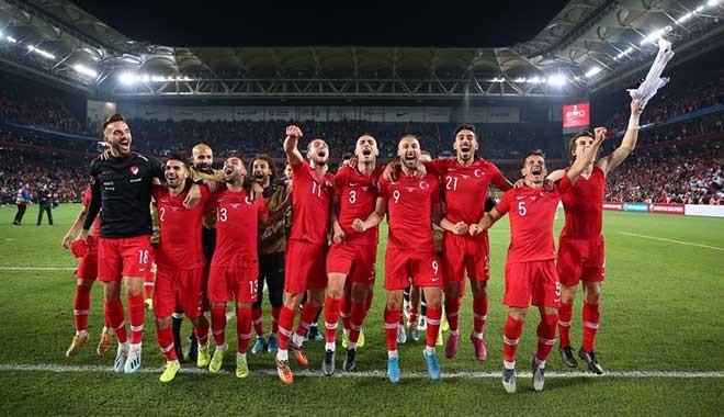 A Milli Futbol Takımının Euro 2020'de rakipler belli oldu