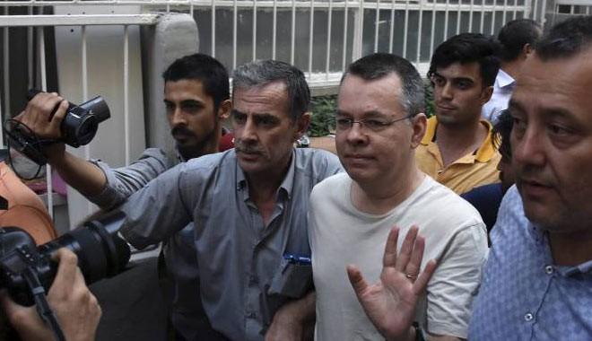 Brunson'ın ev hapsine itiraza üst mahkemeden ret