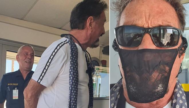 ABD'li kaçak milyarder maske yerine tanga taktığı için gözaltına alındı