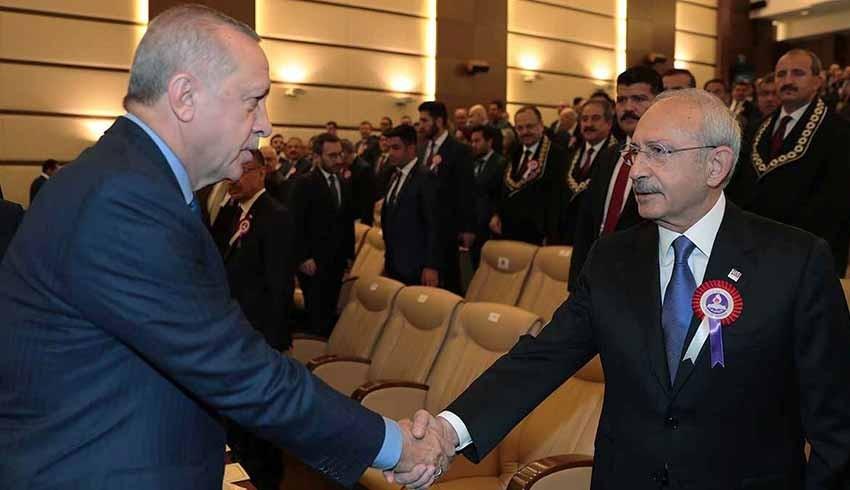 Erdoğan'dan Kılıçdaroğlu'na 500 bin liralık yeni tazminat davası