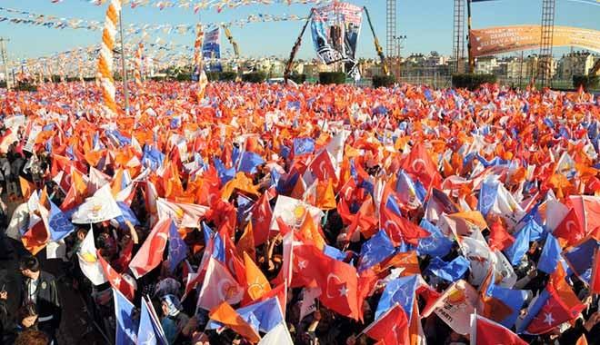AKP mitingine gidene yüzde 20, gitmeyene yüzde 3 zam