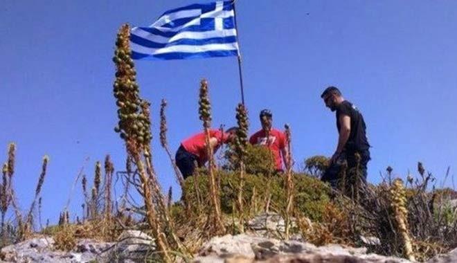 Ege'de yeni Yunanlı bayrağı krizi...