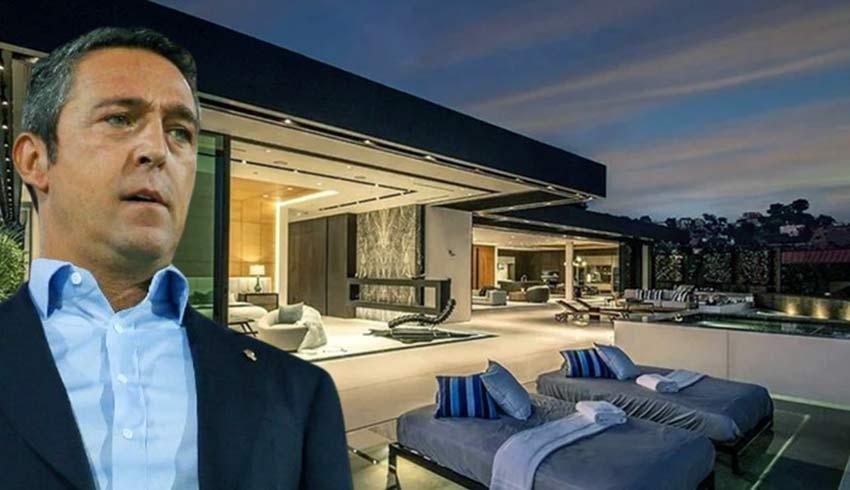 Ali Koç, Los Angeles'tan malikâne aldı; 14.5 milyon doların tamamını nakit ödedi