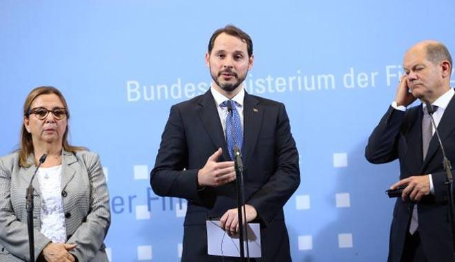 Almanya Maliye Bakanlığı'nda iki saatlik kritik zirve