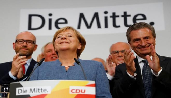 Alman hükümetinde deprem