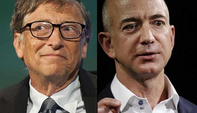 Amazon durdurulamıyor… Jeff Bezos, Bill Gates'e yine çalım attı
