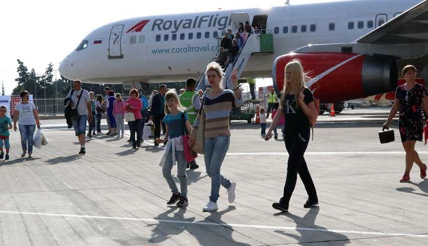 Ekim ayında turist sayısı yüzde 60 azaldı
