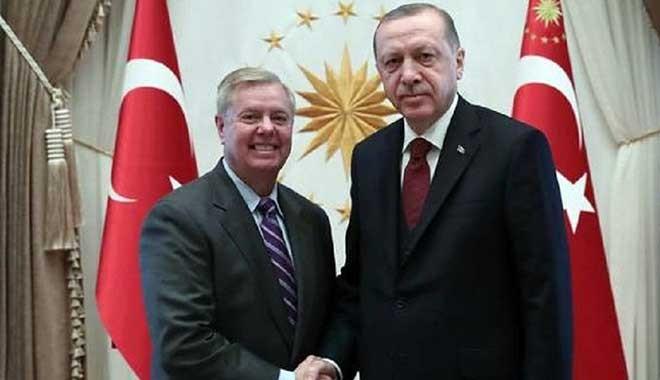 Senatör Graham'dan yeni açıklama: Türkiye Suriye'nin kuzeyine girerse, bu adımı Kongre'nin cehennemden gelme yaptırımları takip edecek