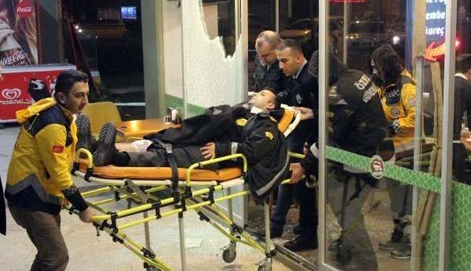 Ataşehir'de restoranda silahlı kavga: 3 yaralı