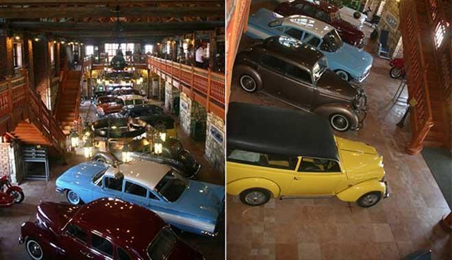 Ayakta kalabilmek için köyünü ve 200 klasik otomobilini satıyor