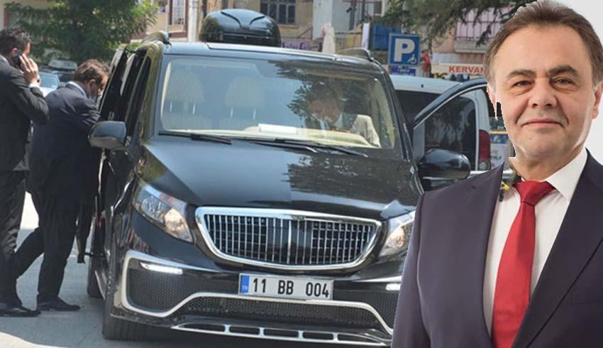 Belediye Başkanının 1.5 Milyon Liralık ultra lüks makam aracı