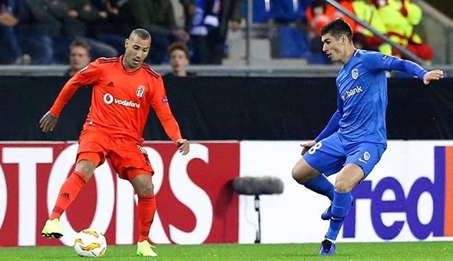 Beşiktaş, deplasmanda Genk ile 1-1 berabere kaldı