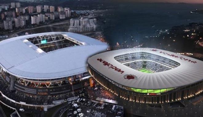 Beşiktaş ve Galatasaray arasında stat kavgası...