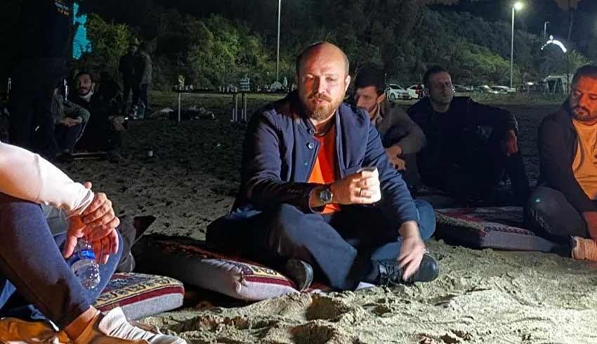 Bilal Erdoğan'dan gazetecilere: Devam etseydim size ekmek kalmazdı