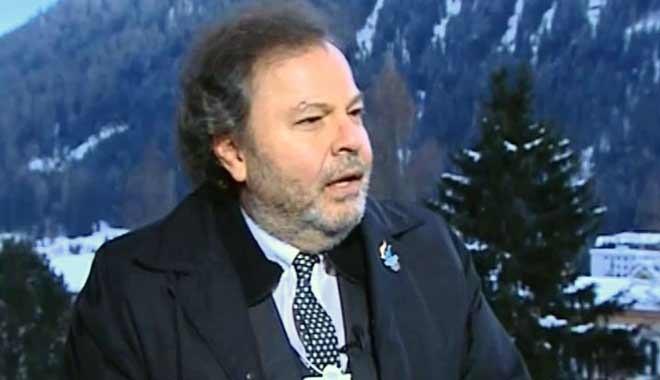 Cüneyd Zapsu'dan Davos'ta çıkış: Ben Türk bayrağı taşıyorum bilhassa inadına..