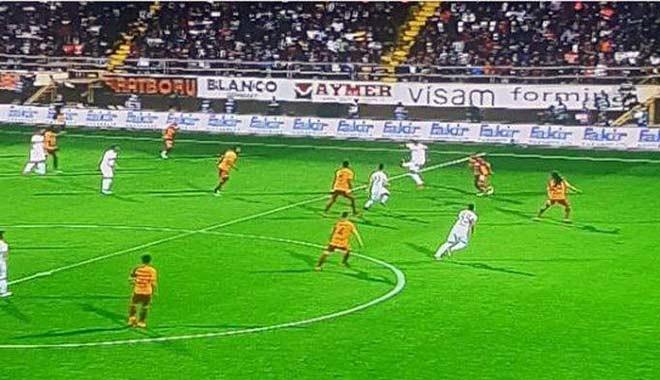 Bu ofsayt mı! Alanyaspor-Galatasaray maçına damga vuran karar