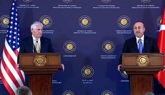 Çavuşoğlu'ndan Tillerson'a: Topu taca atmayalım, artık oyalama yok...