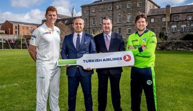 Corona ile irtifa kaybeden THY,İrlanda Kriket Takımı sponsorluğunu bıraktı!
