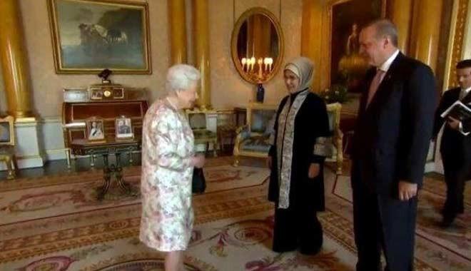 Erdoğan'dan Gül-Elizabeth görüşmesine gönderme