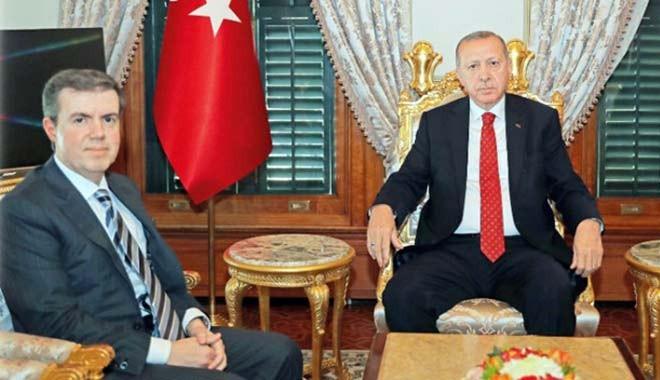 Cumhurbaşkanı Erdoğan, Mücahid Ören'le görüştü