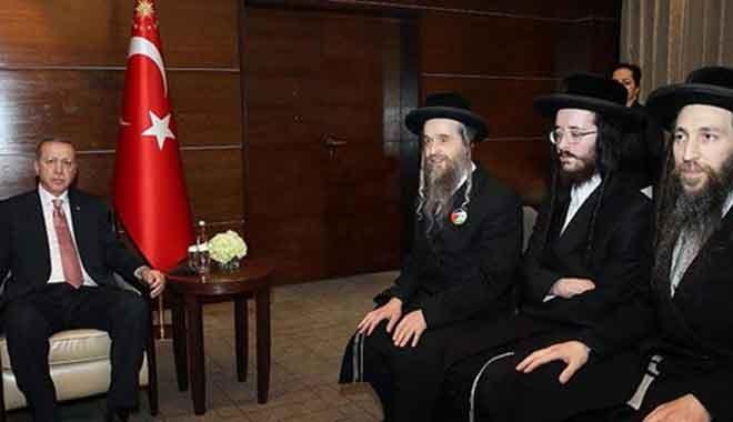 Cumhurbaşkanı Erdoğan Musevi Cemaati üyelerini kabul etti