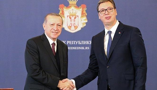 Cumhurbaşkanı Erdoğan: Sırbistan'da 6 fabrika açacağız,1 fabrikamızın da temelini atacağız