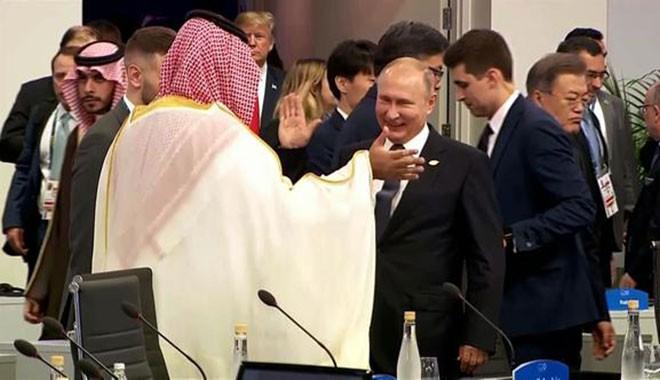 Putinden Veliaht Selmana beşlik