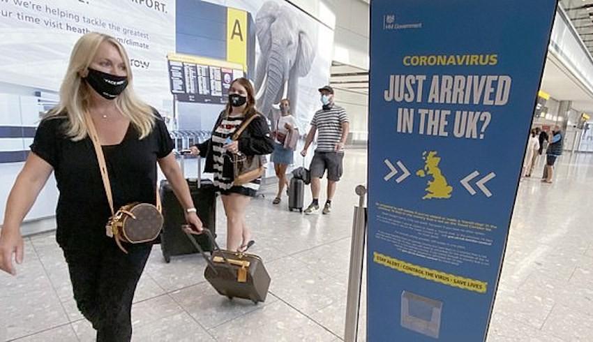 İngiltere'den yeni karantina kararı: Türkiye'den gelenler de muaf tutulacak
