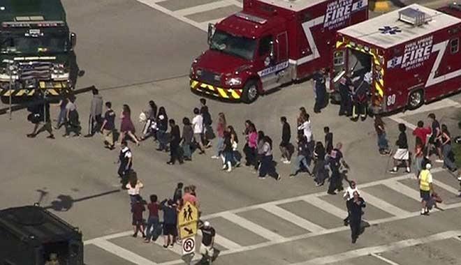 En güvenli şehir seçilmişti... ABD'de liseye silahlı saldırı: En az 17 ölü, 50'den fazla yaralı