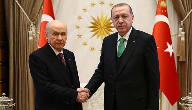 Erdoğan-Bahçeli 'İttifak' görüşmesi 45 dakika sürdü