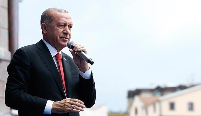 Erdoğan: Doları, eurosu, altını olan Türk Lirası ile bozdursun