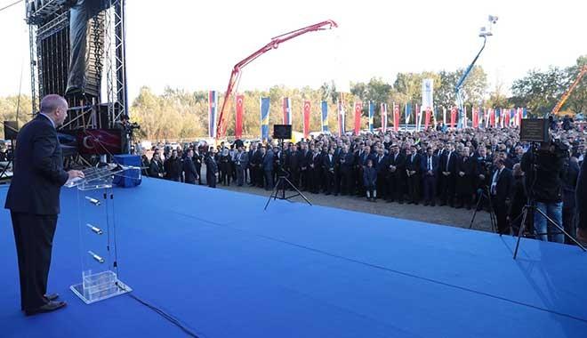 Erdoğan, Sırbistan'da 6 Türk fabrikasını açtı