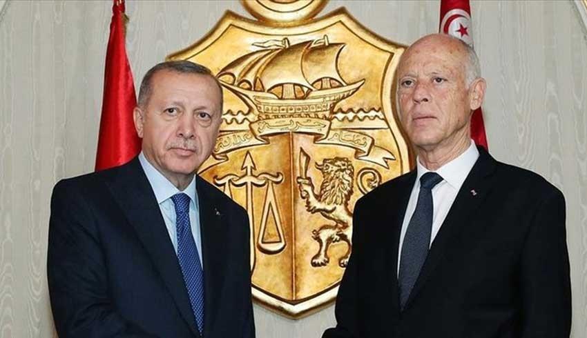 Erdoğan, Tunus Cumhurbaşkanı Said ile görüştü