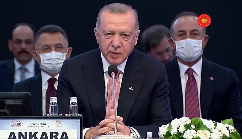 Erdoğan'dan AB mesajı: Yarım asırdır mücadele ediyoruz