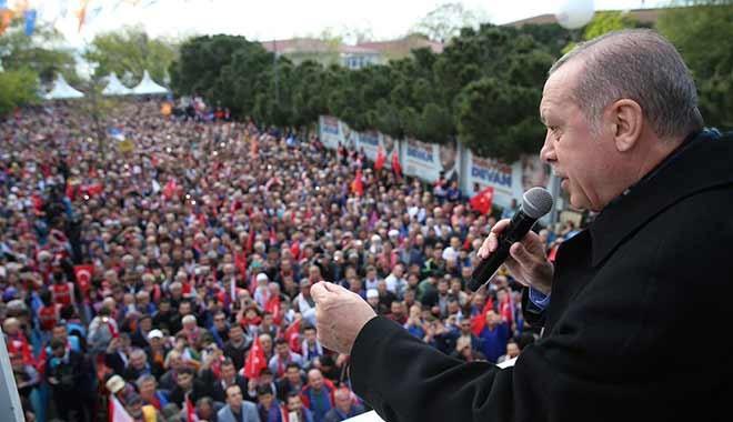 Erdoğan'dan Beykozlulara: 'Tapulu yerlerinizi müteahhitlere vermeyin