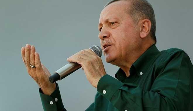 Erdoğan: Muharrem İnce'nin mitinglerini istihbarat izliyor