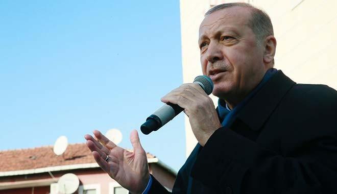 Erdoğan: Kur, faizle yıkamadılar, patlıcan, domatesle saldırıyorlar