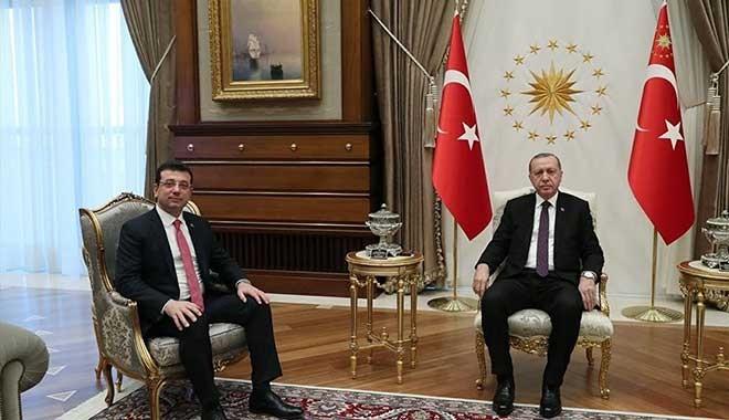 Erdoğan ile görüşen İmamoğlu: 'Oyunuza talibim' dedim, gülümsedi