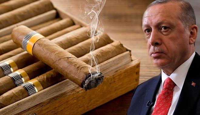 Erdoğan talimat verdi, puroya vergi zammı yolda