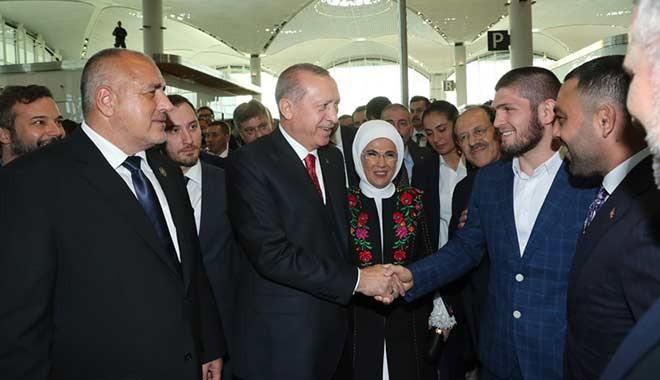 Erdoğan, Nurmagomedov'la bir kez daha görüşmek istiyor: Hamza, sonra onu bana getir