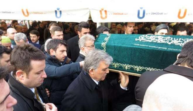 Erol Olçok'un annesi Asiye Olçok'un cenaze namazına kimler katıldı?