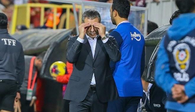 Ersun Yanal maç sonu ateş püskürdü: 'Adalet yoksa futbol da yok'