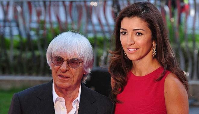 F1'in eski patronu Ecclestone 89 yaşında baba oluyor