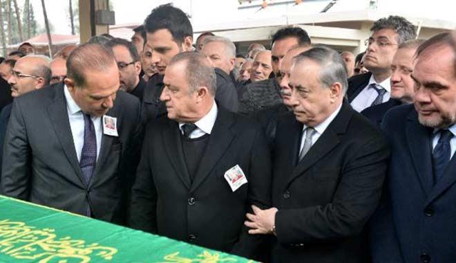 Fatih Terim'in babasının cenazesine kimler katıldı