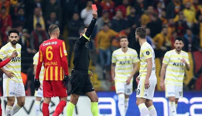 Fenerbahçe, Kayserispor'a yenildi